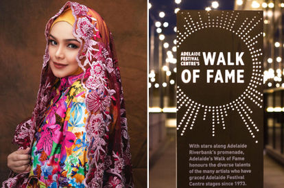 Siti Nurhaliza's Name To Be Etched On Adelaide Festival Centre's Walk Of Fame
